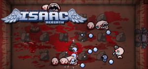 Jaquette de The Binding of Isaac : Rebirth sur Vita