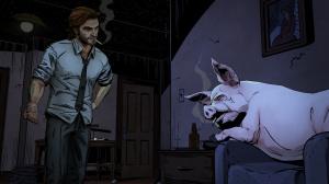 Les premières images de The Wolf Among Us