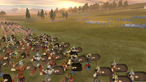 Images : The History Channel : Great Battle Of Rome