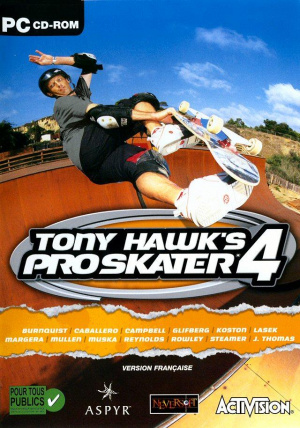 Tony Hawk's Pro Skater 4 sur PC