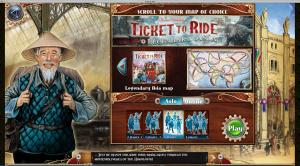 Un nouveau plateau de jeu pour Ticket to Ride