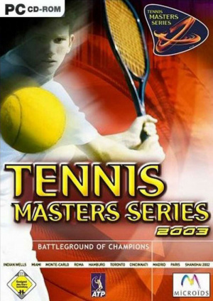 Tennis Masters Series 2003 sur PC