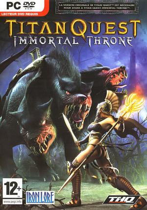 Titan Quest : Immortal Throne sur PC