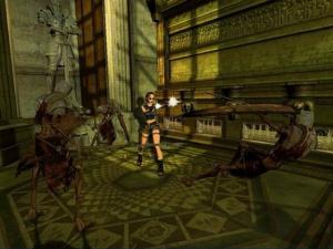 Lara repoussée