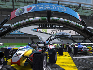 Images : Trackmania Nations expose son gazon