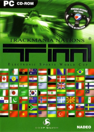TrackMania Nations sur PC