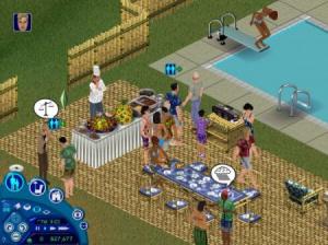 Les Sims : Surprise- Partie