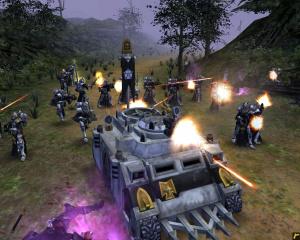 Images : Warhammer 40000  : Dawn Of War : Soulstorm sort l'artillerie lourde