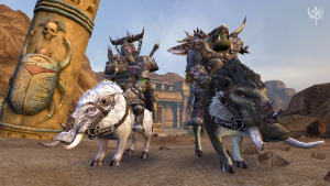 Warhammer Online a 3 ans