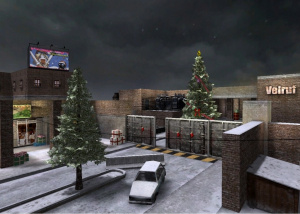 Il neige sur War Rock