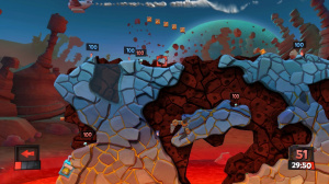 Worms Revolution s'envole pour Mars