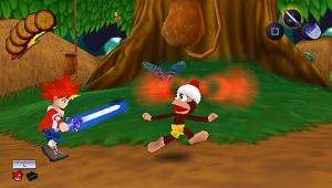 Images : Ape Escape aussi en forme sur PSP