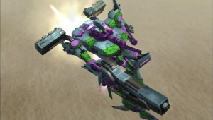 Images d'Armored Core : Last Raven Portable
