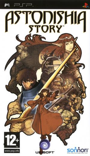 Astonishia Story sur PSP