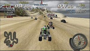 ATV Off Road Fury dévale la pente