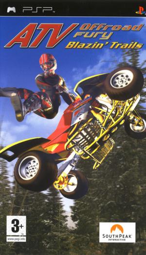 ATV Off Road Fury : Blazin' Trails sur PSP
