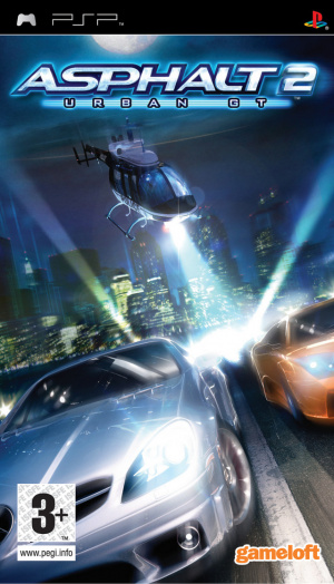 Asphalt : Urban GT 2 sur PSP