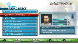 Images : Brian Lara 2007 Pressure Play