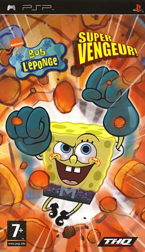 Bob l'Eponge : Super Vengeur sur PSP