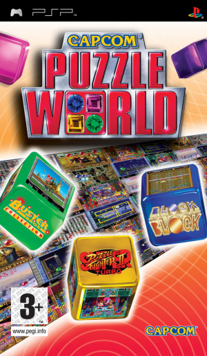 Capcom Puzzle World sur PSP