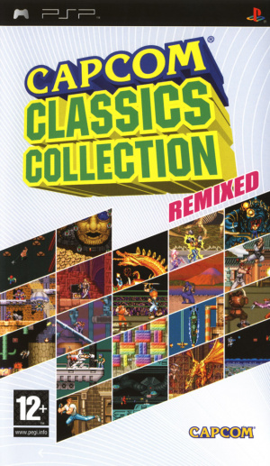 Capcom Classics Collection Remixed sur PSP
