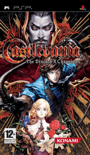 Castlevania : The Dracula X Chronicles sur PSP