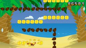 Coconut Dodge sur PSP
