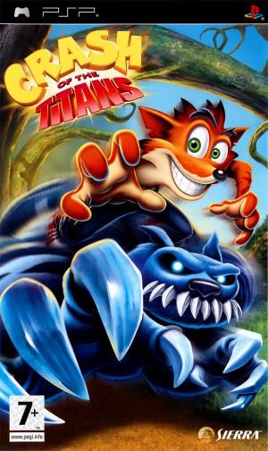 Crash of the Titans sur PSP