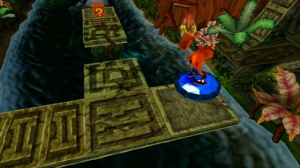 gemme bleu crash bandicoot 2 playstation