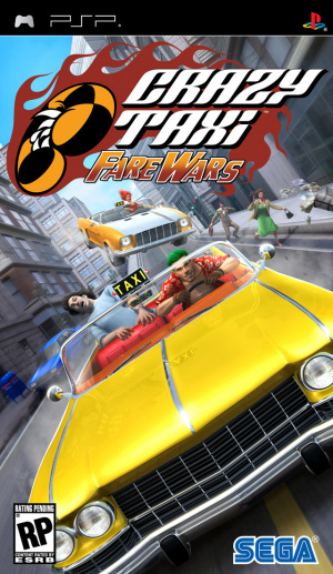 Crazy Taxi : Fare Wars sur PSP