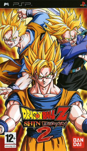 dragon ball z shin budokai 2 sur playstation portable. Black Bedroom Furniture Sets. Home Design Ideas