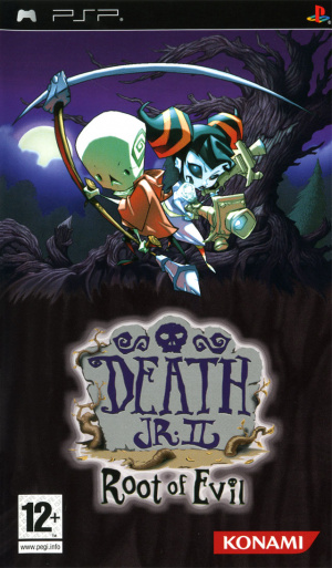 Death Jr. II : Root of Evil sur PSP