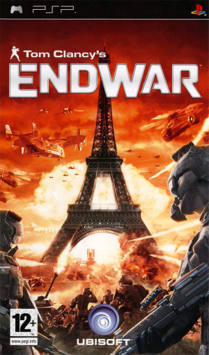 Tom Clancy's EndWar sur PSP