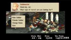 Images : Final Fantasy Tactics adoube la PSP
