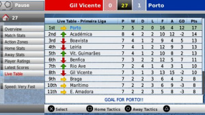 Images : Football Manager 2008 sur PSP