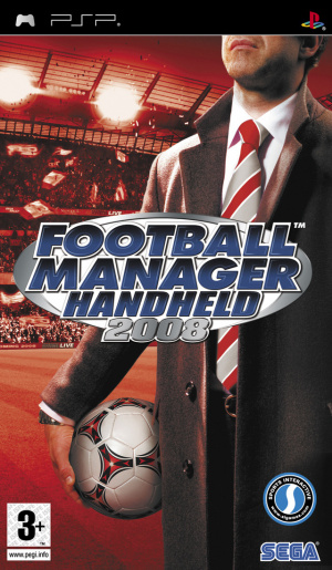 Football Manager Handheld 2008 sur PSP