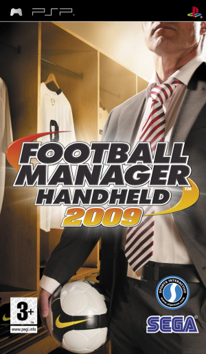 Football Manager Handheld 2009 sur PSP
