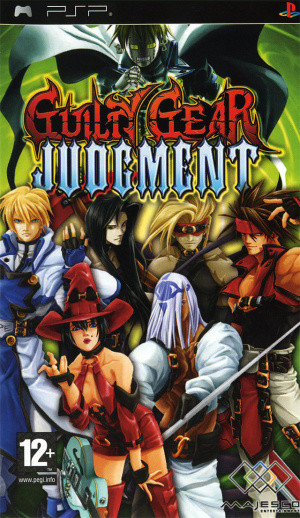 Guilty Gear Judgment sur PSP