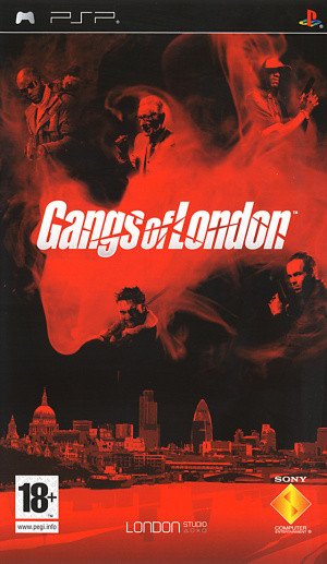 Gangs of London sur PSP