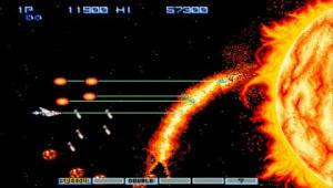 Gradius : 5 en 1 sur PSP