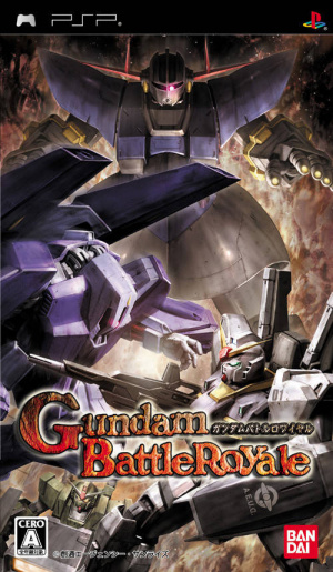 Gundam Battle Royale sur PSP