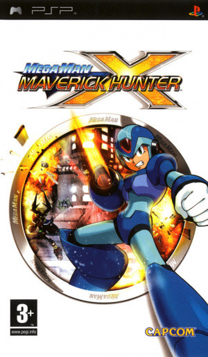 Mega Man Maverick Hunter X sur PSP