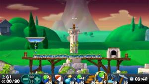 Images : Lemmings en rang sur PSP