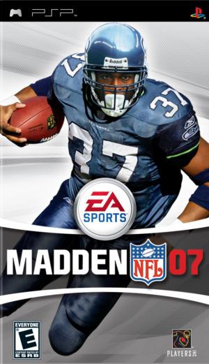 Madden NFL 07 sur PSP