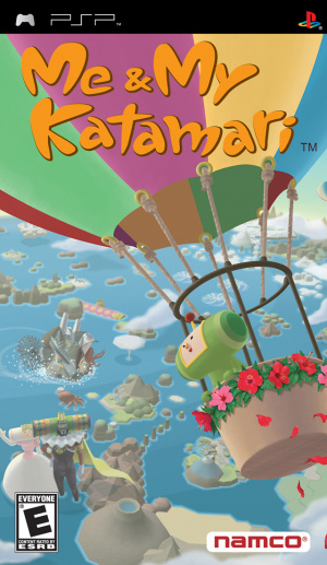 Me and my Katamari sur PSP