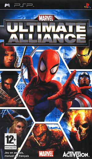 Marvel Ultimate Alliance sur PSP