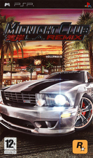 Midnight Club : L.A. Remix sur PSP