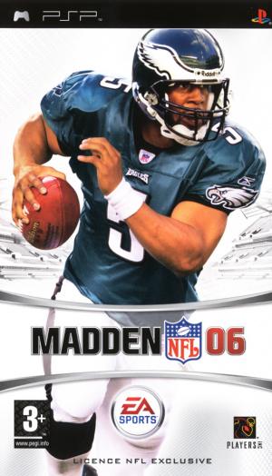 Madden NFL 06 sur PSP