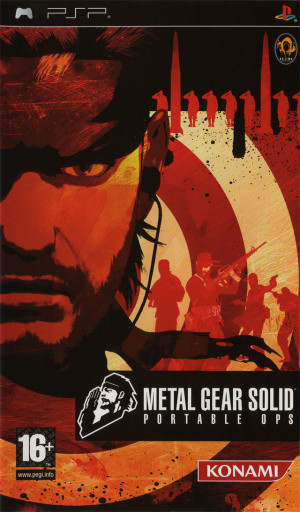 Metal Gear Solid : Portable Ops sur PSP