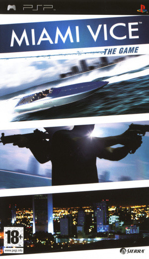 Miami Vice : The Game sur PSP